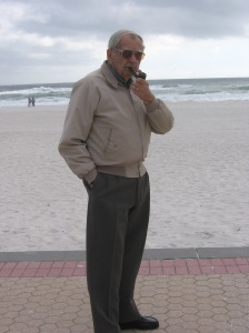 Dad on Beach