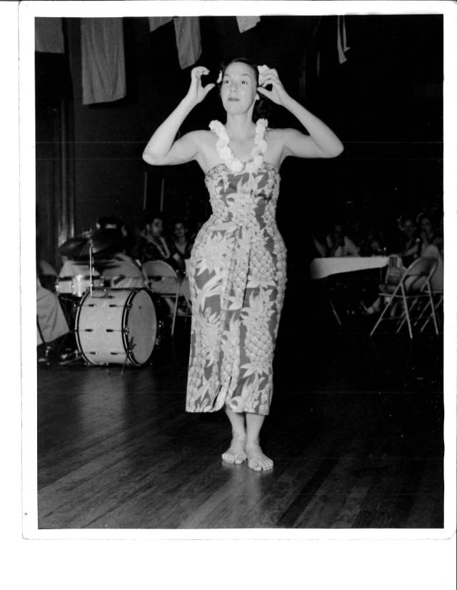 Mom Performing Hula in Michigan