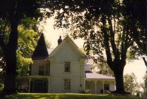 My grandparents' farm house in Watauga, TN.