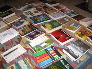 Books I read that informed Threshold.